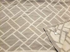 Koala Baby Chenille Knit Baby Blanket Grey White Woven Brick Squares Design