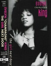 Evelyn Champagne King The Girl Next Door CASSETTE ALBUM Electronic House Synt