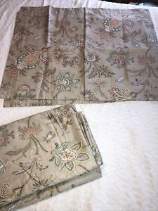 Garnet Hill Egyptian Cotton Duvet Set Queen