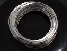 10m x 2mm (12 gauge) ALUMINIUM Wire SILVER (Craft Florist Floral Jewelry Making)