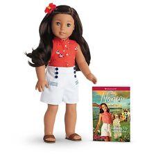 "*New* American Girl BeForever Nanea Mitchell 18"" Doll & Book Nib"