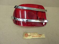 NOS 1963 AMC AMBASSADOR TAIL LAMP LENS  3482799