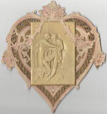 Vintage Romeo & Juliet Pressed Paper & Celluloid Valentine