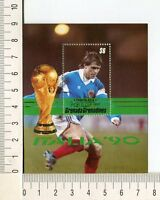 36770) Grenada Grenadines 1990 MNH W Cup Football Italy
