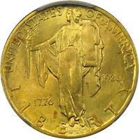 1926 $2.5 PCGS MS64 SESQUI QUARTER EAGLE ~ HIGH-END & ORIGINAL ROSE GOLD!