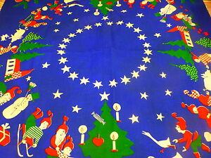 neuf bleu  tissu ,91x87cm nappe ou futur tapis de bébé