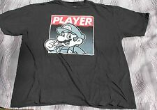 "Super Mario Brothers ""Player"" Gaming Shirt Size 2XL Nintendo"