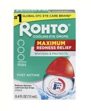 Rohto Cool Max Relieving Redness Eye Drops Whitening & Protection