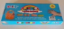 600 Rainbow Colourful Loom Bands Bracelet DIY Making Kit Free 2 packs loom bands