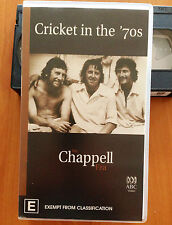 CRICKET IN THE 70'S - THE CHAPPELL ERA - VHS