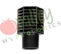 Botanicare SCREEN Fill/Drain Barbed BC Ebb & Flow Outlet BH Fittings Hydroponics