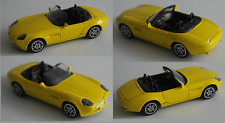 Joy City-BMW z8 amarillo 1:43 maqueta de coche