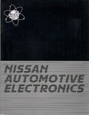 Nissan Automotive Electronics 1985 Export Markets Sales Brochure in English