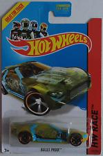 HOT Wheels-Bullet Proof Giallo Nuovo/Scatola Originale US-CARD