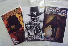 THE SPIDER 3 DYNAMITE THREE VARIANTS FRANCAVILLA CASSADAY LESSER COVERS