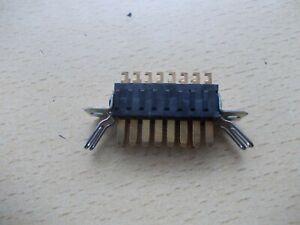 Plessey/Jones 15 Way Plug With Panel Mounting Brackets+Retainers74/10/1506/10