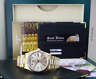 ROLEX - Mens 36mm 18kt Gold Day Date PRESIDENT Silver Stick 18038 - SANT BLANC