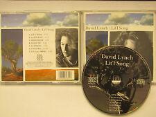 David Lynch  –   Lit'l Song  FM Records – FM 311  rare cd