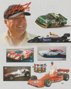 """2001 A.J. Foyt """"A.J. Foyt Enterprises"""" Indy Car NASCAR Le Mans USAC Hero Card"""