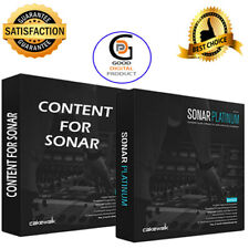 🔥 Cakewalk Sonar Platinum 🔥+  Plugins +13GB Content  ✅ For WIN ✅ Fast Delivery