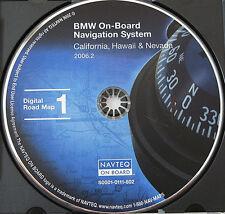 2000 01 2002 BMW X5 M3 M5 Z3 Z8 E39 E46 E53 NAVIGATION MAP CD 1 CA NV CALIFORNIA