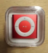 Apple iPod Shuffle 4th Generation 2Gb Apple Red Mkml2Ll/A A1373 New Sealed