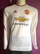 Manchester United FC 2015/2016 Away Jerseys Long Sleeves/Size Mens S M/ AI6359