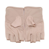 Sunblock Fingerless Stretchable Women Gloves Sun Blocking Driving Protection QK