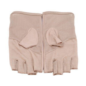 Unsex Half Finger Gloves Protective Cycling Sports Bicycle Summer Sun Gloves YG