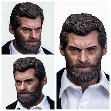Eleven 1/6 Scale Old Logan Head Sculpt + Comic Book For Toys Wolverine Figure