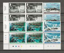 More details for british antarctic territory sg 626/9 mnh blocks of 4 cat £48