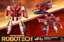 Macross Robotech Miriya VF-1J Veritech with Super Armor 1/100 Transformable