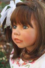 "Masterpiece Doll MADISON by Monika Levenig 38""  Brunette Vinyl Doll  US Edition"