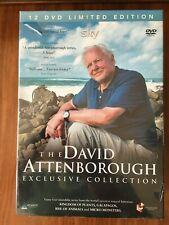 DVD boxset The David Attenborough Earth Science - EXCLUSIVE collection