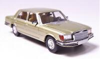 H0 BREKINA Starmada Mercedes Benz 450 SEL W 116 hellgrün metallic # 13155