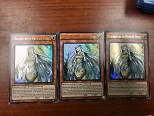 YuGiOh 3x Maiden With Eyes Of Blue Ultra Rare 1st Edition/Unplayed