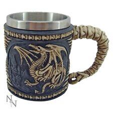 Nemesis Now Dragon Skeleton Tankard Beer Mug Brown
