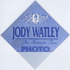 Jody Watley 1993 Tour Backstage Pass