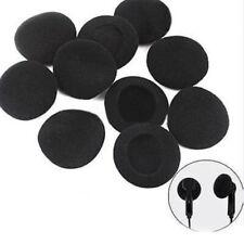24x Black Soft Sponge Ear Pad Earbud Cap Cover Cushion Foam Headphone Earphone