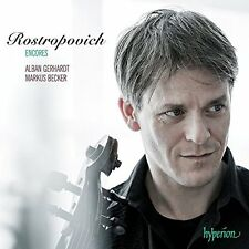 GERHARDT/BECKER-ROSTROPOVICH ENCORES  CD NEW