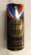 Vintage Champ Premium Malt Liquor Beer Can abc