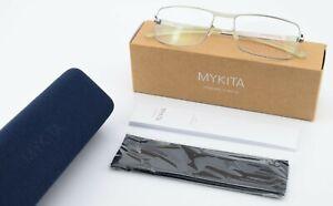 MYKITA Brille No.1 Francis 09 53-18 135 Silver Flexible Frame Angular Design S