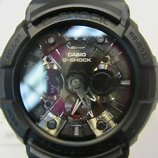 CASIO G-SHOCK MEN'S WATCH CHRONO BLACK PVC SOFT PLASTIC ORIGINAL GA110BR-5A NEW