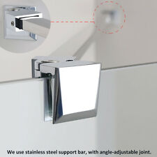 Stainless steel Support bar wet room panel screen walk in shower enclosure