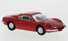 Brekina PCX870216 - 1/87 Ferrari Dino 246 GT, rot, 1969 - Neu