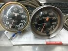 Vintage Airguide Speedometers 5-50 Working Condition Set Of Two