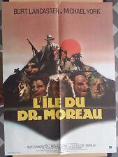 Affiche L'ILE DU DOCTEUR MOREAU island of Dr. Moreau BURT LANCASTER 60x80cm *