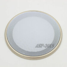"1pcs 200MM ​6.5"" Speaker Coaxial Steel Sub Mesh Grills Gold Woofer White Cover"