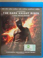 BATMAN - THE DARK KNIGHT RISES (BLU-RAY) 2 DISC SPECIAL EDITION