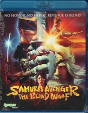 Samurai Avenger The Blind Wolf Blu Ray Synapse Kurando Mitsutake